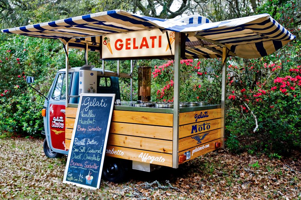 Gelati Mobile Piaggio Ape Truck