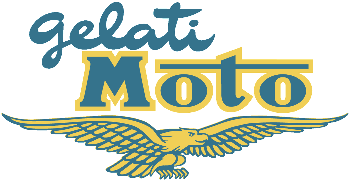 Gelati Moto Logo with Eagle